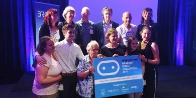 Studenten project Eigenstandig wonen wint de Brabant Robot Challenge 2018!