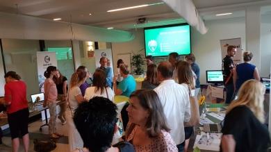 Kick-off eerste Innovatie café Regionale zorgorganisaties groot succes