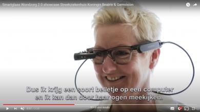 Inzet van Smart glass met collega op afstand