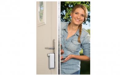 Laat de thuiszorg binnen met een slim elektronisch slot